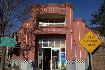 Rockridge Shopping District in Oakland