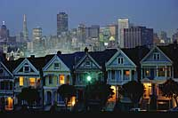 San Francisco's Victorian Architecture or The Painted Ladies